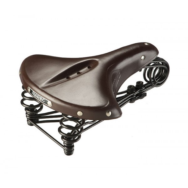 Selle Vélo Cuir Lepper N90